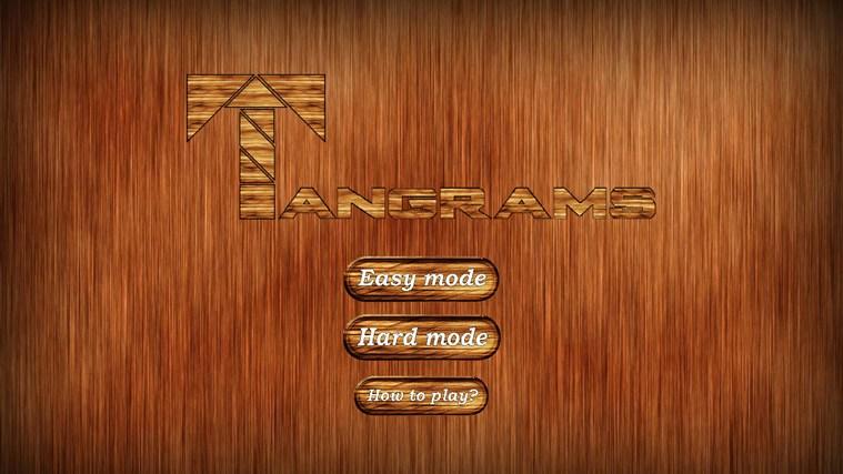 Tangrams captura de pantalla 0
