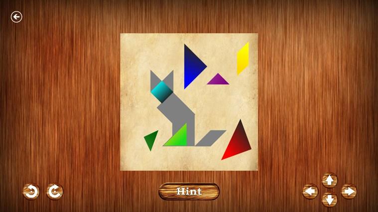 Tangrams captura de pantalla 2