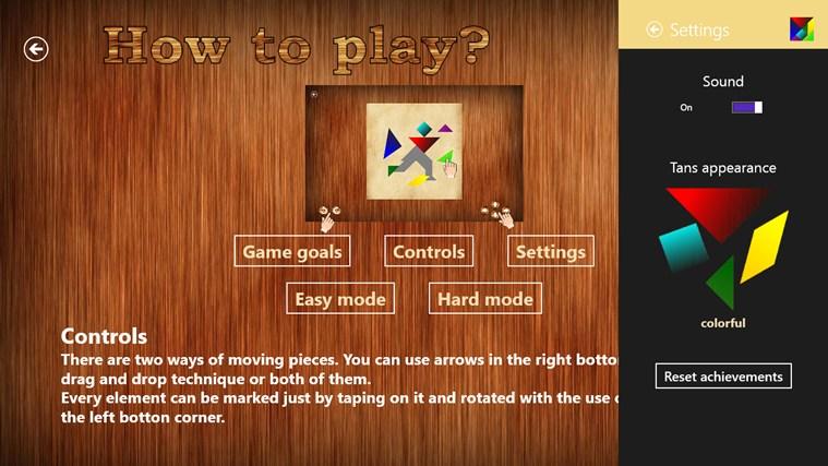 Tangrams captura de pantalla 4