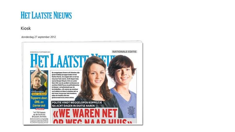 Het Laatste Nieuws schermafbeelding 0