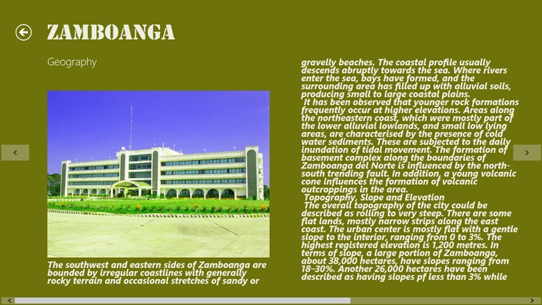 City of Zamboanga screen shot 2