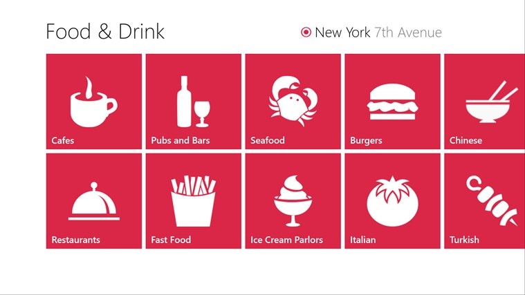Food & Drink screen shot 0