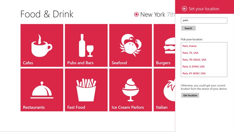 Food & Drink screen shot 2