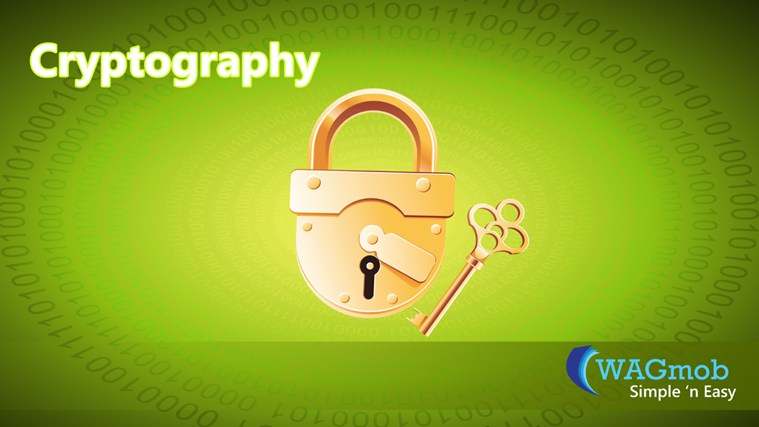 Cryptography by WAGmob screenshot 0