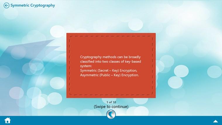 Cryptography by WAGmob petikan skrin 8