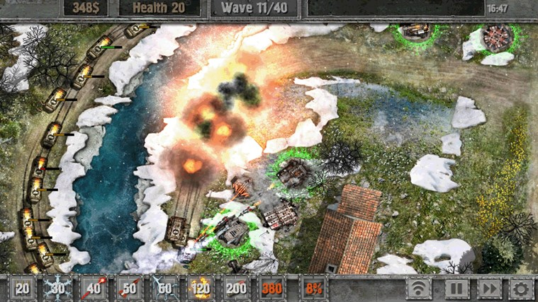 Defense zone 2 screen shot 2