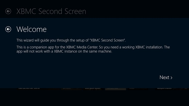 XBMC Second Screen screen shot 4