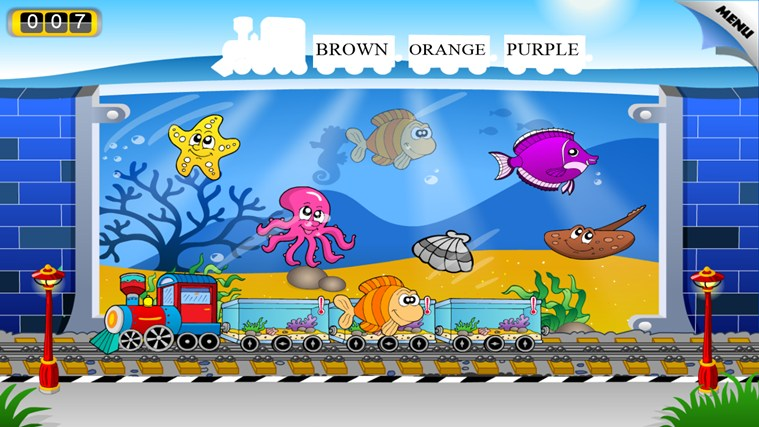 Animal Train - First Word screen shot 2