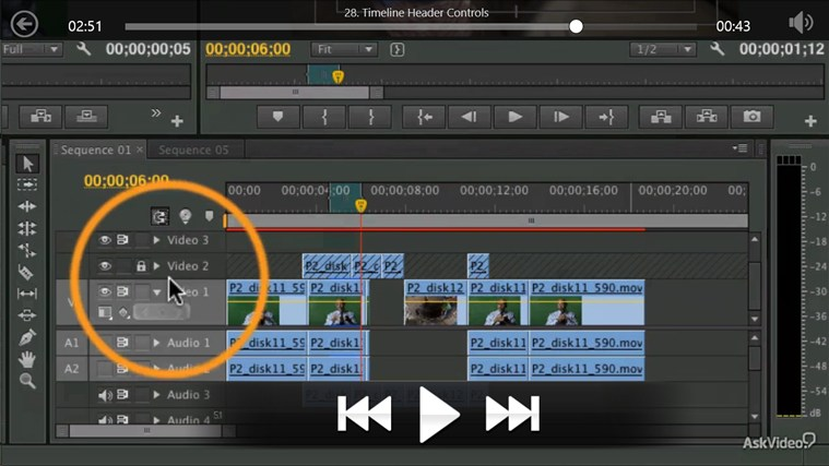 Premiere Pro CS6 - Basic Editing ภาพหน้าจอ 4