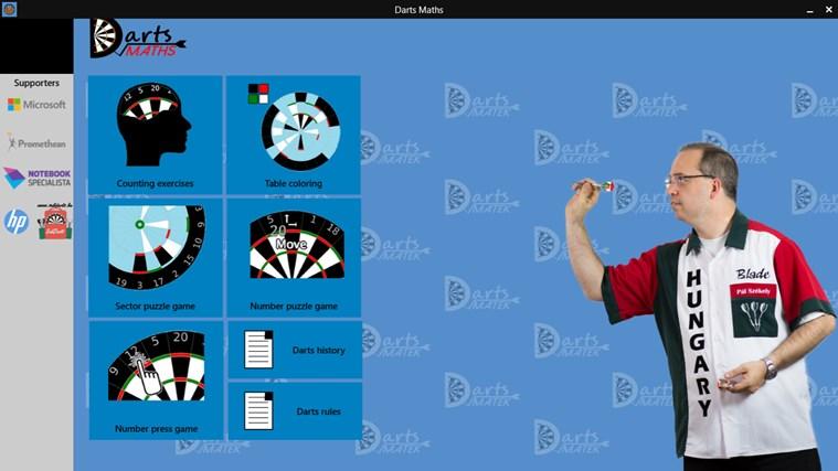 Darts Matek szoftver
