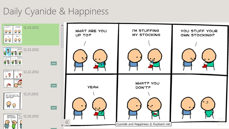 Daily Cyanide & Happiness screen shot 0