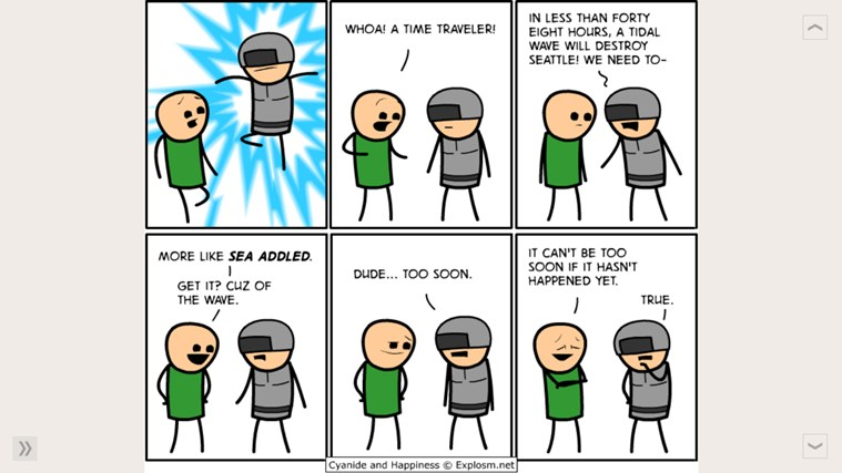 Daily Cyanide & Happiness screen shot 2