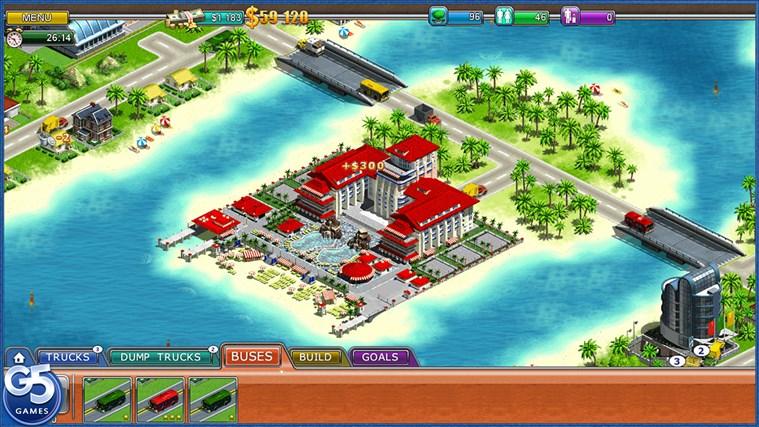 Virtual City 2: Paradise Resort HD-skärmbild 0