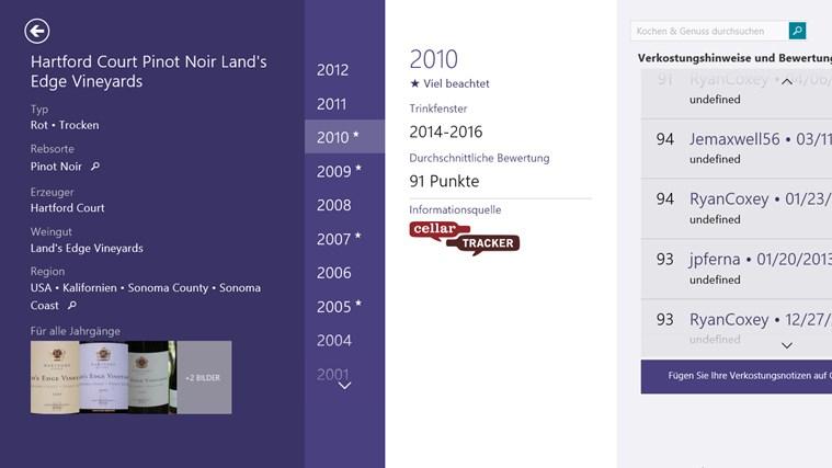MSN Kochen & Genuss Screenshot 6