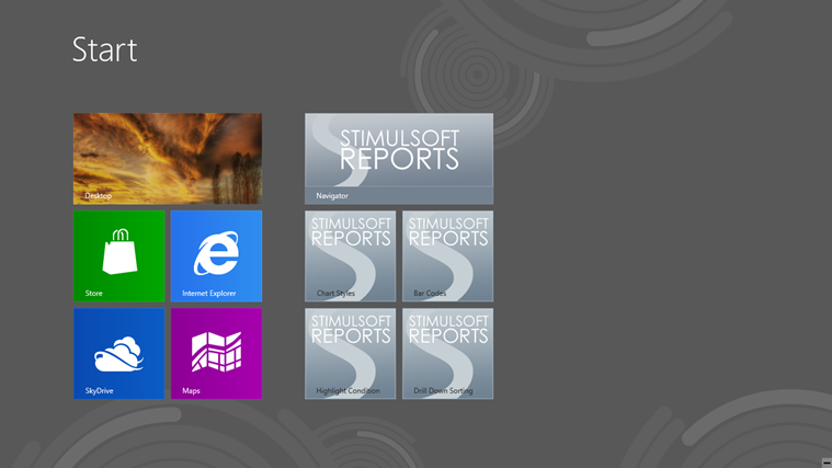 Stimulsoft Reports.WinRT : Generate Reports & Export To HTML & Excel