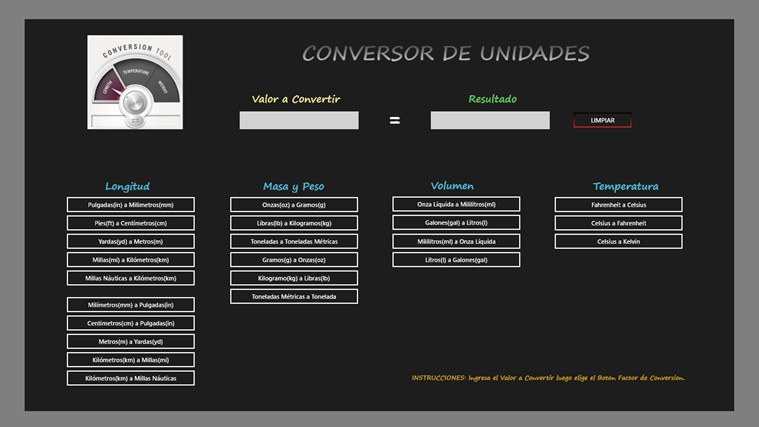 Conversor Unidades Screenshot 0