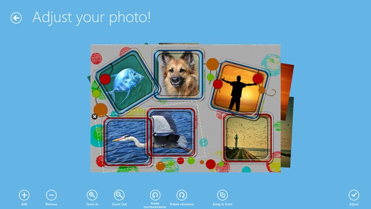 PhotoMontager screen shot 4