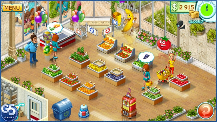 Supermarket Mania® 2 HD (Full) screen shot 0