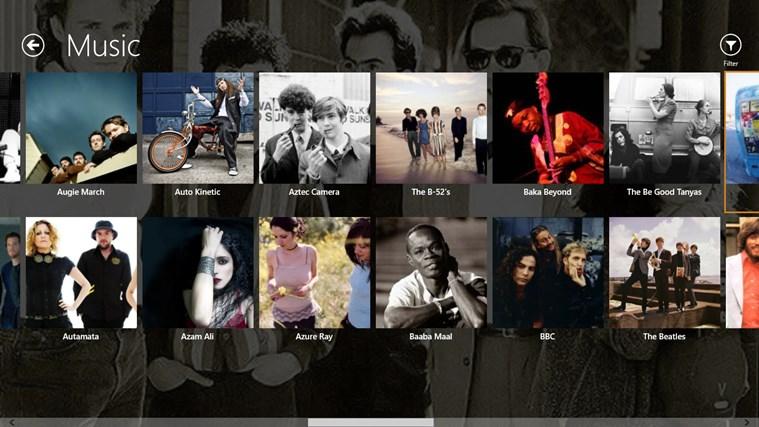 Plex schermafbeelding 2