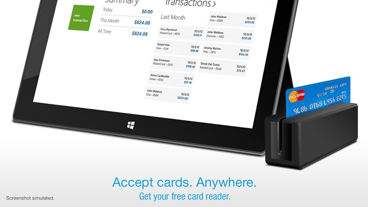 Credit Card Terminal screen shot 0