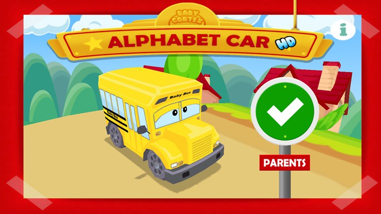 Alphabet Car HD screen shot 0