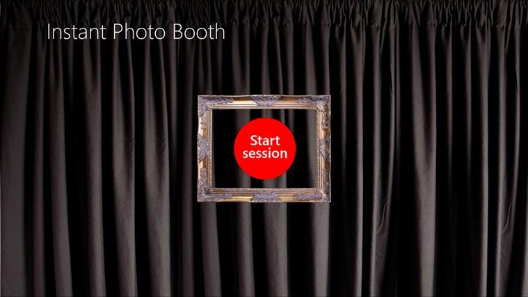 InstantPhotoBooth screen shot 0