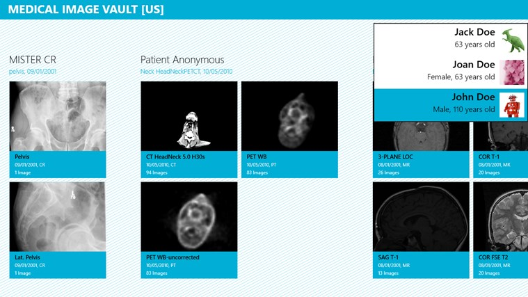 Medical Image Vault screen shot 2