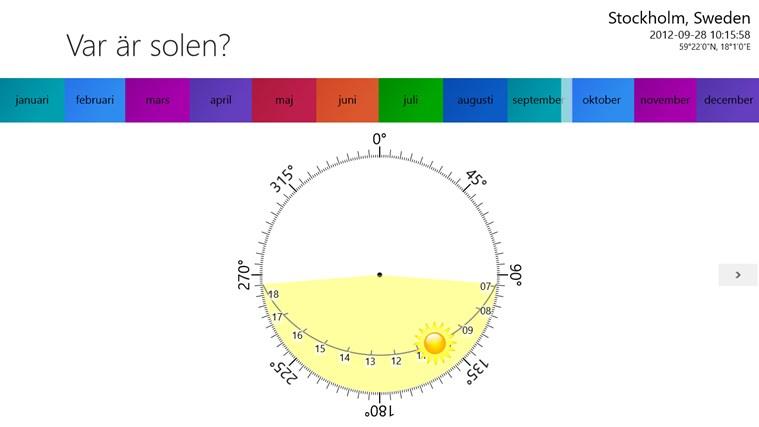 Var är solen?-skärmbild 0