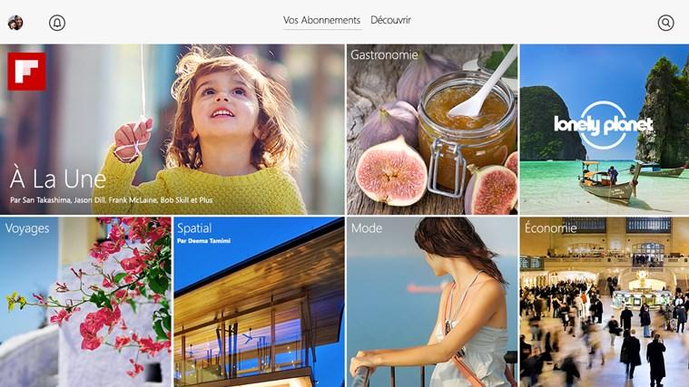 Flipboard capture d'écran 2