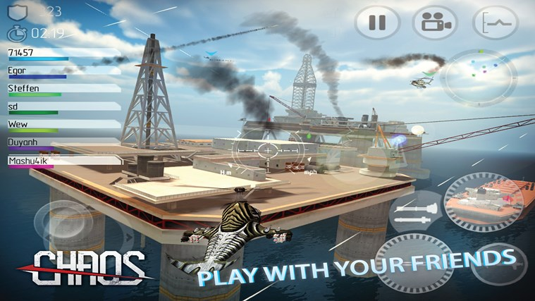 C.H.A.O.S Multiplayer Air War screen shot 0
