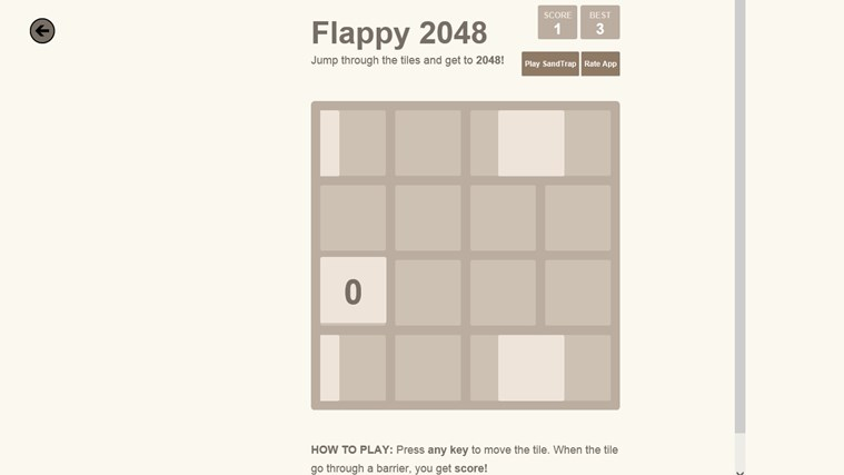 2048. screen shot 6