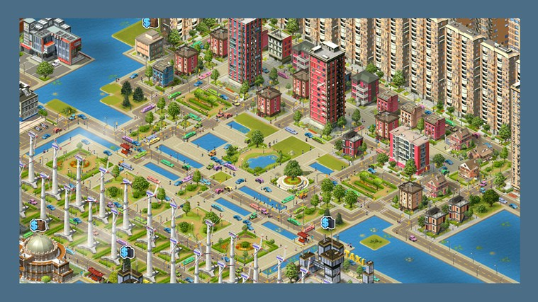 When building a city you are not limited to simple buildings construction. Take on hundreds of tasks for the benefit of your developing city. Moreover, you can even create a complex well-governed coun