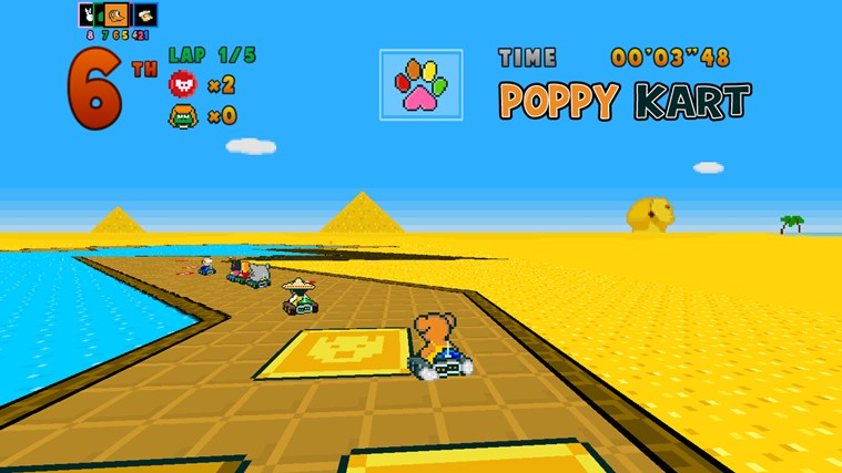 Poppy Kart screen shot 0