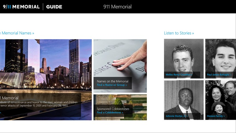 9/11 Memorial Guide screen shot 0
