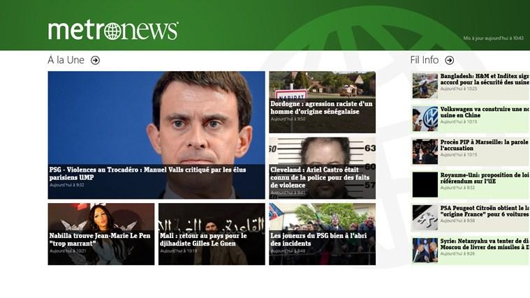 metronews : l'actualité en direct capture d'écran 0