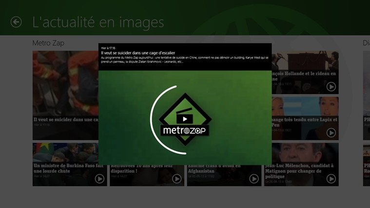metronews : l'actualité en direct capture d'écran 6