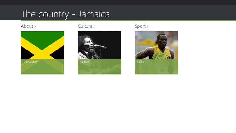The country - Jamaica screen shot 0