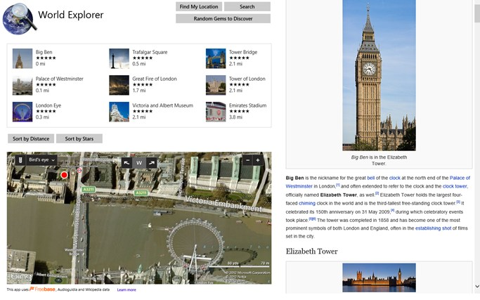 World Explorer - Travel Guide screen shot 0