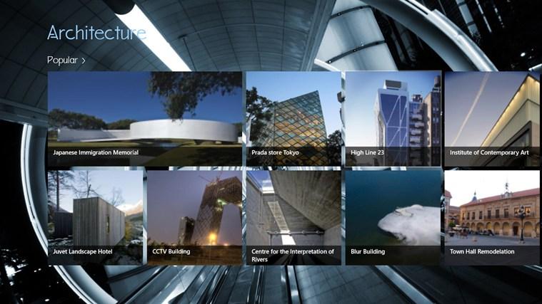 Architecture screen shot 0
