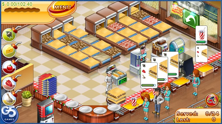 Stand O'Food® 3 HD (Full) screen shot 2