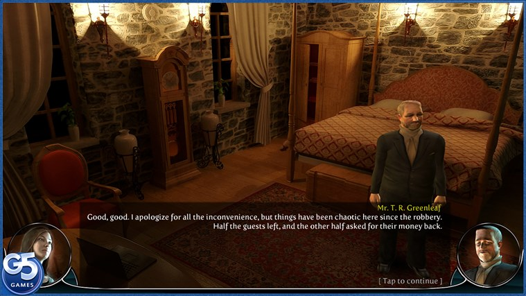Brightstone Mysteries: Paranormal Hotel HD-skärmbild 2