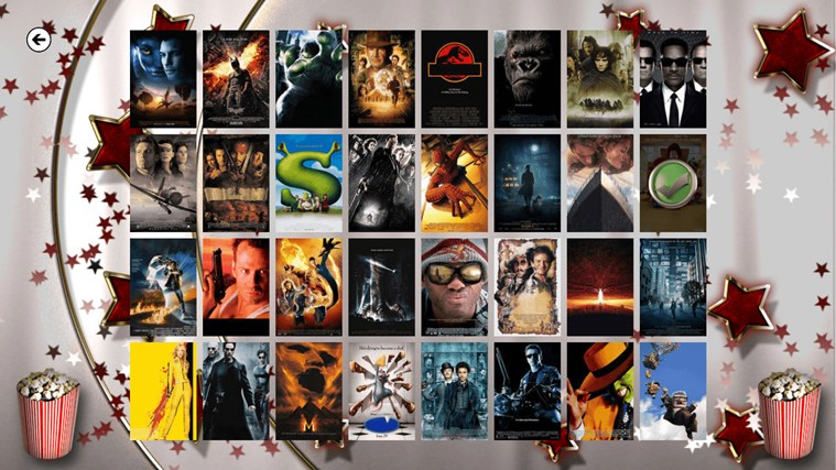 Movie Poster Quiz screen shot 0