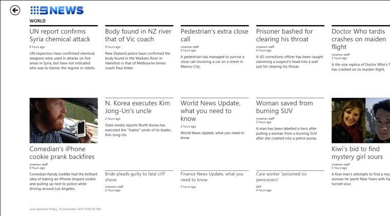Nine News screen shot 0