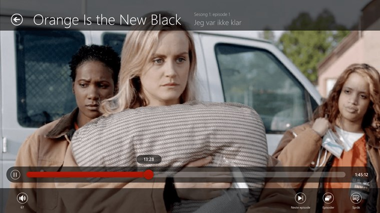 Netflix skjermbilde 2