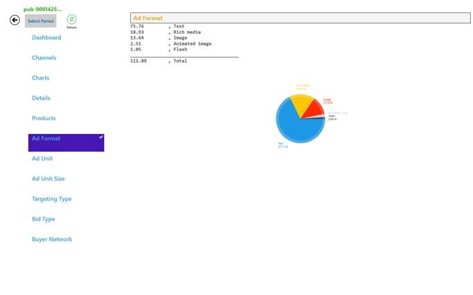 AdSense Pro full screenshot