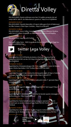 Diretta Volley screen shot 4