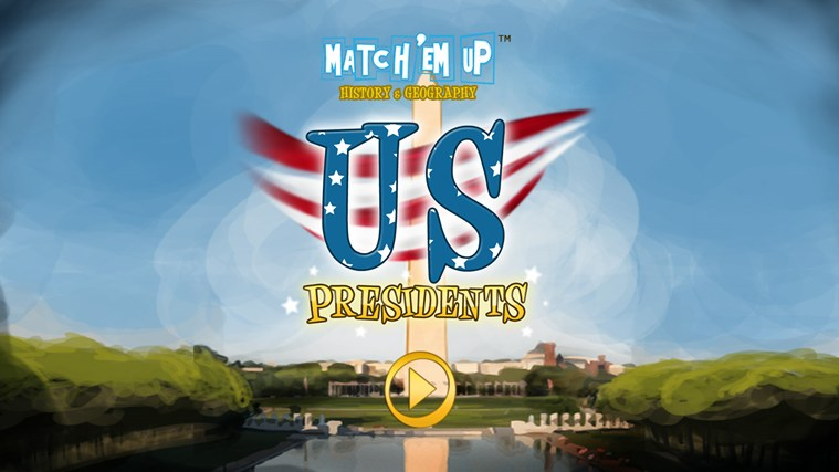 US Presidents (Match'Em Up™ History and Geography) screen shot 0