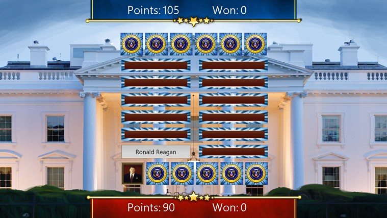 US Presidents (Match'Em Up™ History and Geography) screen shot 2