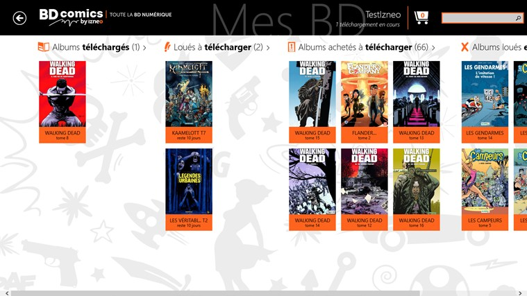 BD comics screen shot 6