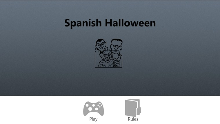 Spanish Halloween screen shot 0